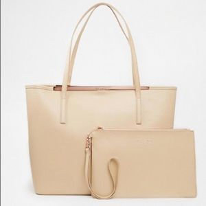 NEW Ted Baker Isbell Crosshatch Shopper Tote
